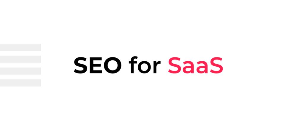 SEO for SaaS