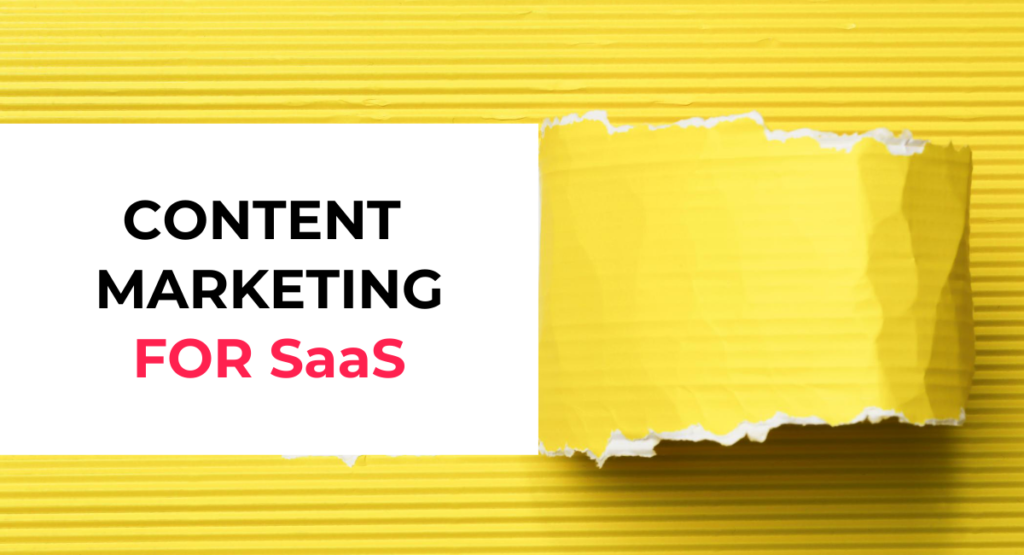 SaaS Content Marketing